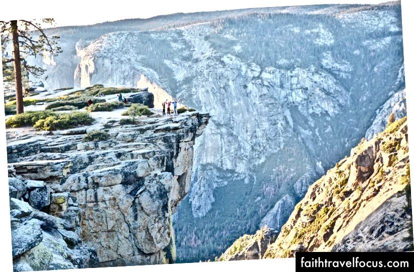 Біля льодовикової точки в національному парку Йосеміті