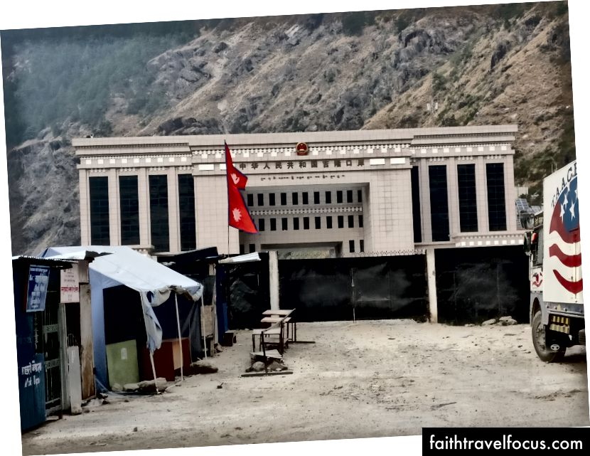 Межа з Китаєм: Ворота Кернунг