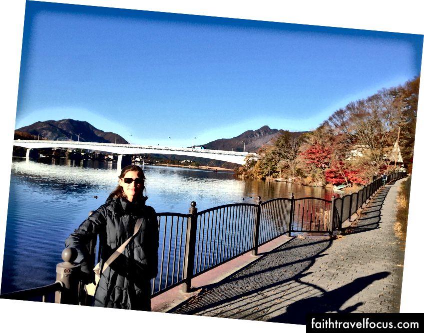 Мене перед мостом Кавагучі
