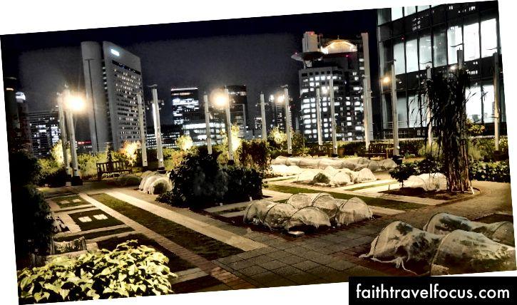 Trang trại trồng rau ở giữa Osaka, trên tầng 14 của nhà ga Umeda http://www.supercheapjapan.com/osaka-station-garden-farm/