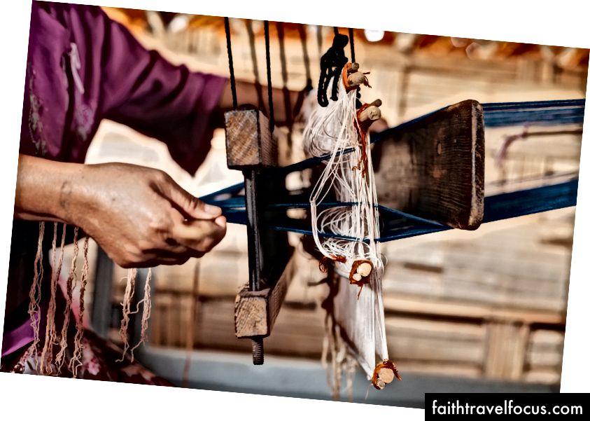 Саморобний ткацький верстат | Джоя Еміді / © Культурна подорож