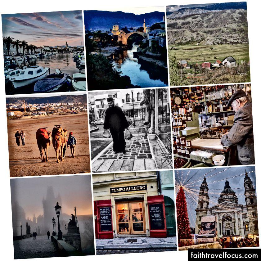 Деякі місця, які заповнили мій минулий рік. Марокко Греція. Боснія. Будапешт. Прага. Хорватія.