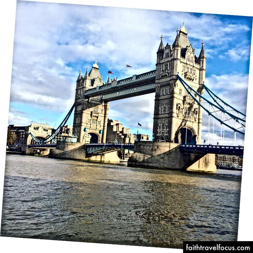 Тауерський міст, Лондон, Великобританія