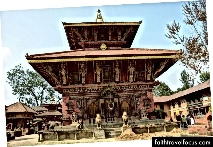 Храм Чангу Нараяна, Бхактапур