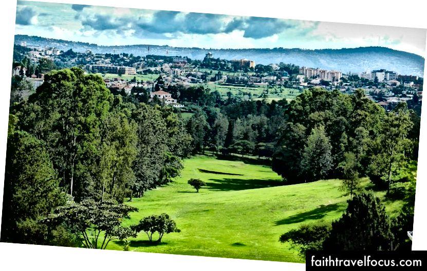 Зелене місто! Громадський парк у Кігалі