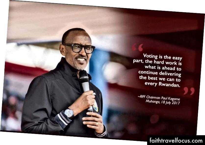 Пол Кагаме, президент Руанди