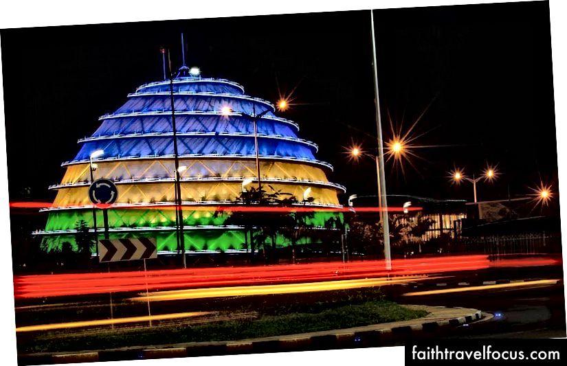 Конгрес-центр Кігалі в Кігалі, Руанда