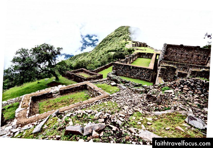 Tàn tích tại Choquequirao