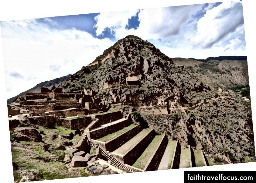 Tàn tích tại Ollantaytambo