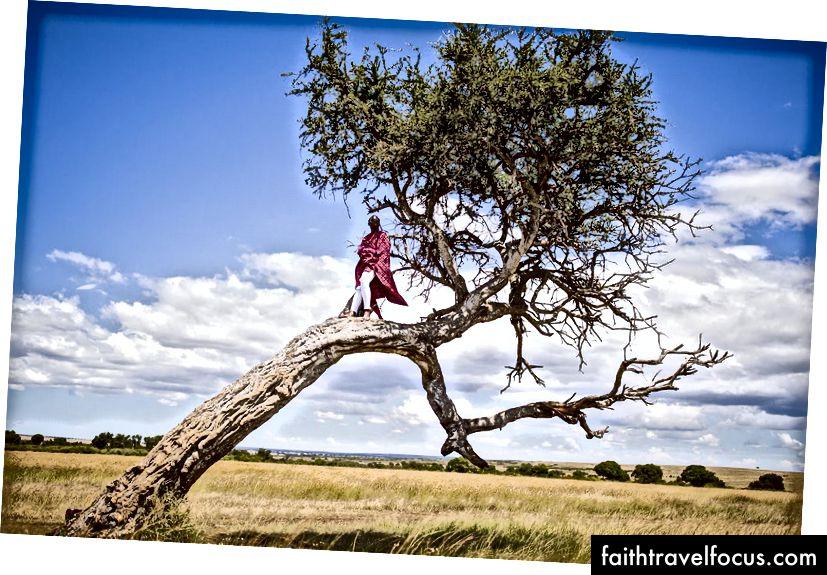 Пейзаж Масай-Мари - саме тому він робить його одним з моїх улюблених місць робити сафарі. (Фотографія: Джеймс Ентоні для @globaljetblack)