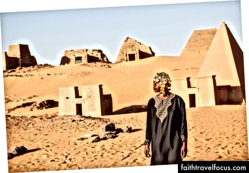 Дослідження нубійських пірамід (Фото: Амін Мааз)