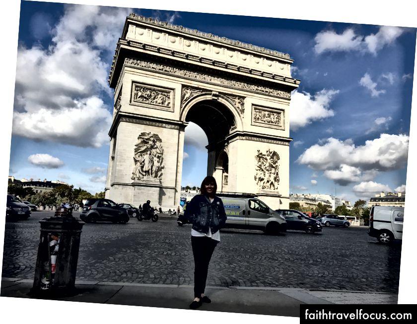 У Париж на консультаційну поїздку вересня 2017 року (і там, де почалася моя залежність від подорожей у 1998 році)