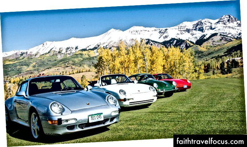 Автомобілі та кольори Теллурайда
