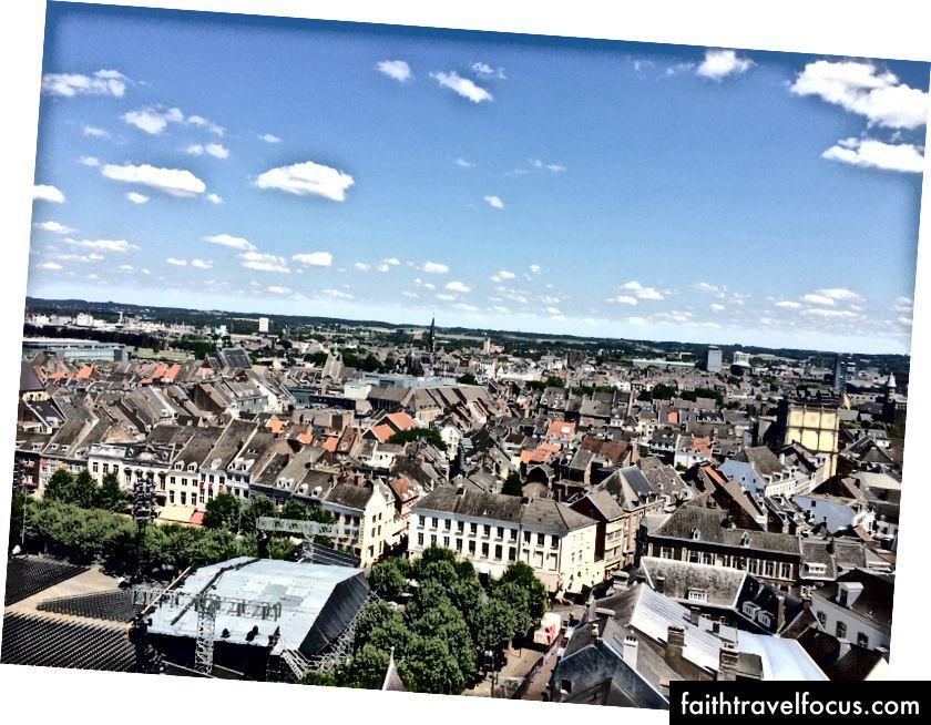 Maastricht từ tháp chuông Sint Janskirk
