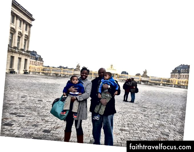 Відвідування замка Версаль