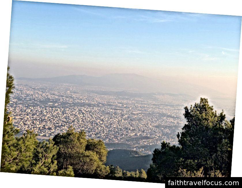 Привіт, туманні Афіни.