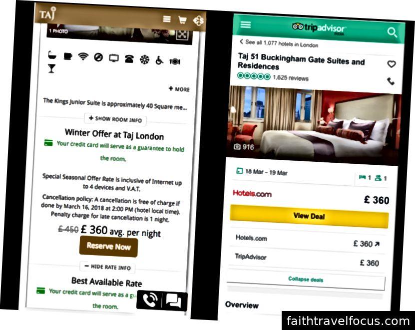 Ми порівняли ціни на цей високо оцінений готель у Лондоні на TripAdvisor