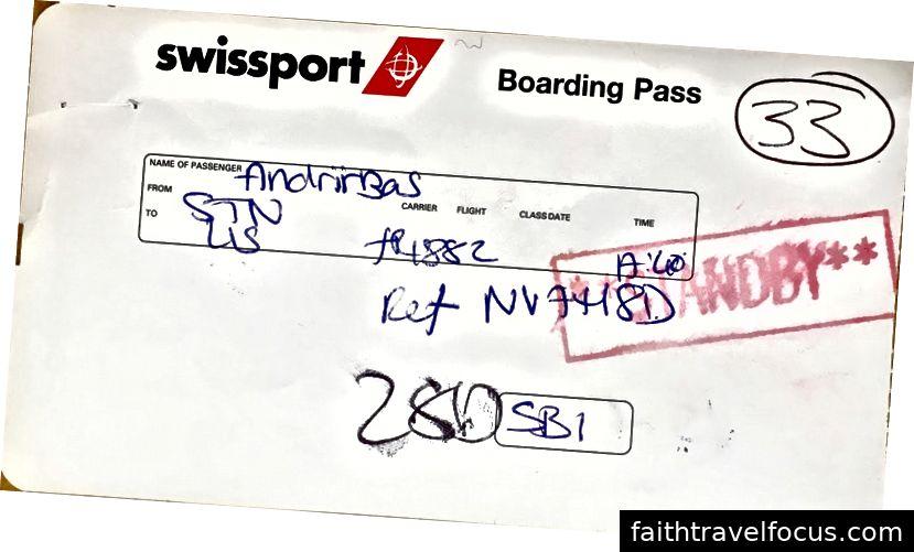 Thẻ lên máy bay tốt nhất tôi từng có