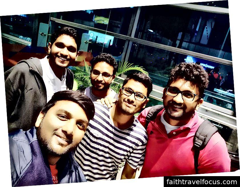 Những người bạn đồng hành tại RGIA-Hyderabad