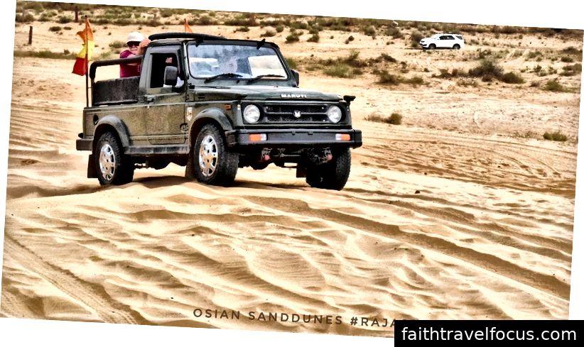 Đi xe jeep: 500 / - cho một xe Jeep trong 2 giờ. (Giá rẻ có phải là nó không?)