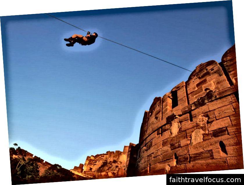 Những điều khác để làm ở Jhodpur: Ghé thăm Umaid Bhawan Palace và Zip Line tại Mehrangarh Fort