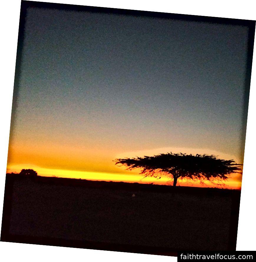 Lái xe đến Bhuj từ Dholavira - Sunset