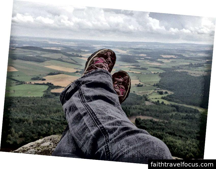 Một cái nhìn từ Pháo đài hình ảnh trên Mither Tap