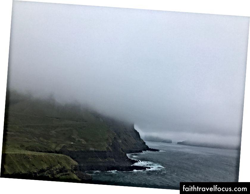 Тепер це хмара. Фарерські острови - вересень 2017. Фото мною.