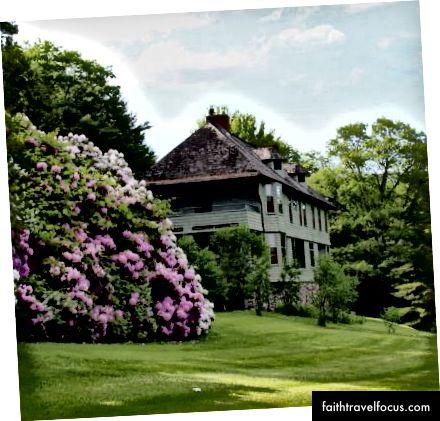 Будинок у Вермонті, де Редьярд Кіплінг написав