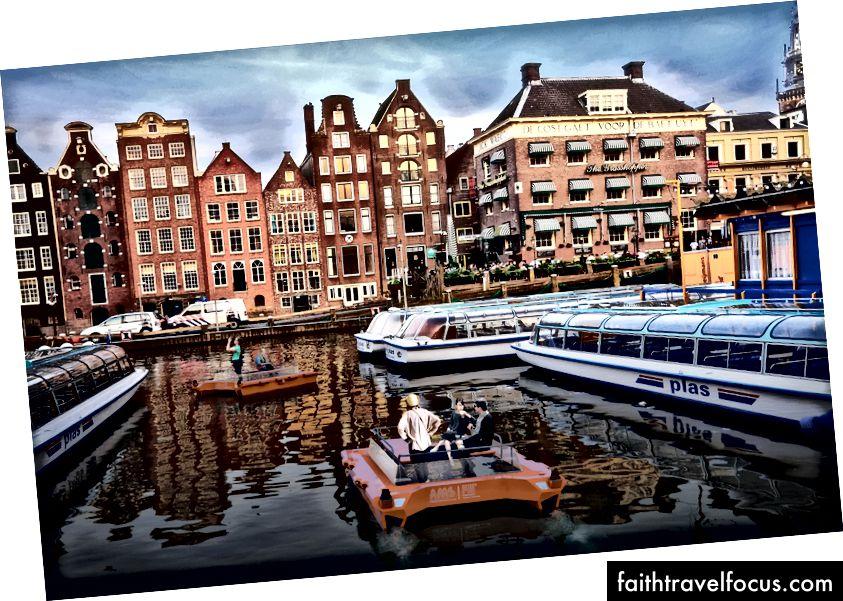 Bir Tekne Nasıl Amsterdam'da Kullanılabilir | © MIT Duyarlı Lab