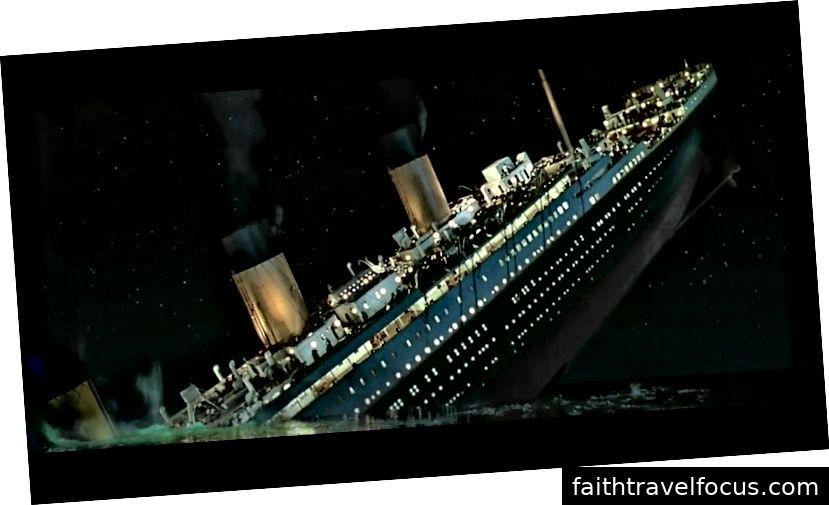 RMS Titanic không thể tưởng tượng - điều gì có thể xảy ra?!