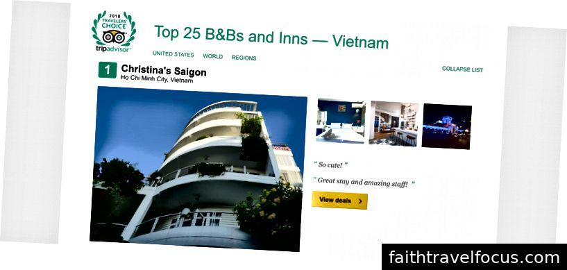 Christina [là chỗ ở được xếp hạng số 1 tại Việt Nam vì đội ngũ của chúng tôi dành hết tâm huyết để chăm sóc khách của mình, bất chấp sự can thiệp phá hoại của Agoda.