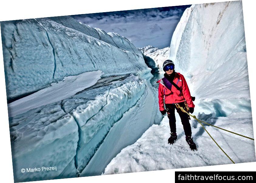 Мене лід піднімається крізь величезні гори з льодом у десятки метрів заввишки, що призводить до того, коли вітер і море виштовхують лід на континент, де він задирається і відморожується.