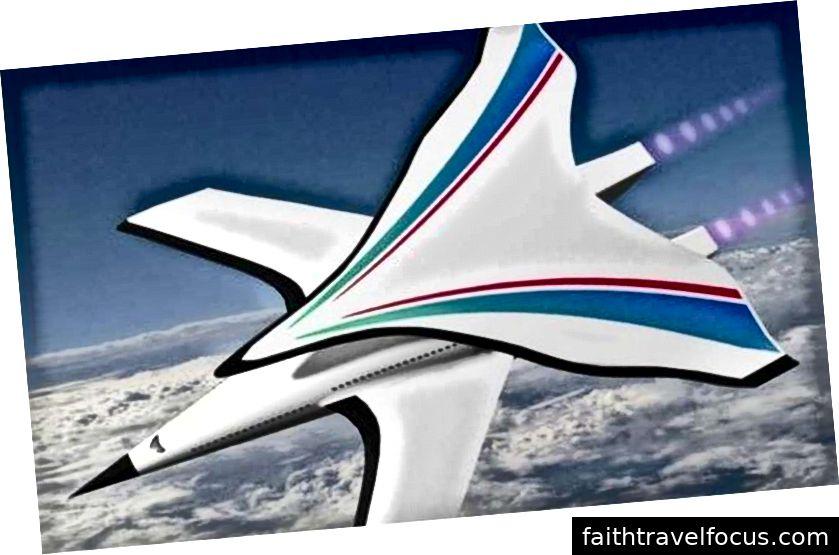Cấu hình biplane I Máy bay siêu âm là duy nhất ngay cả đối với thủ công siêu âm. Trung Quốc báo chí