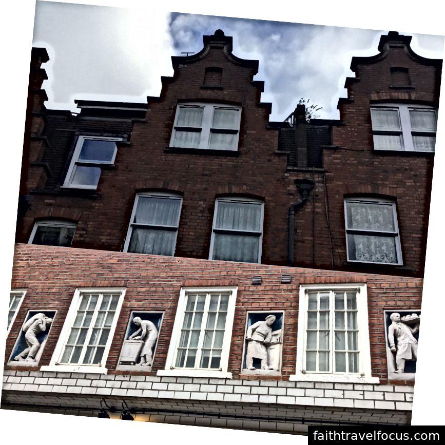 Nhà ở Hà Lan và tôn tạo trên mặt tiền bánh mì cũ