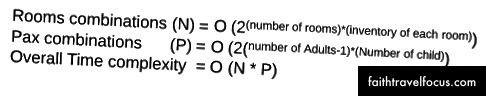 Hình (4): Cách tiếp cận lực lượng mạnh mẽ dẫn đến độ phức tạp theo thời gian theo cấp số nhân