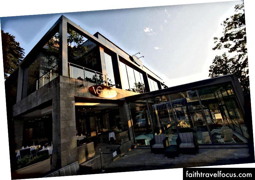 Golf Hotel veranda