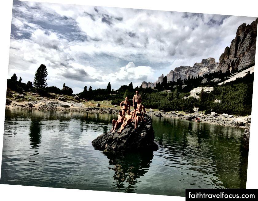 Vi erobret innsjøen