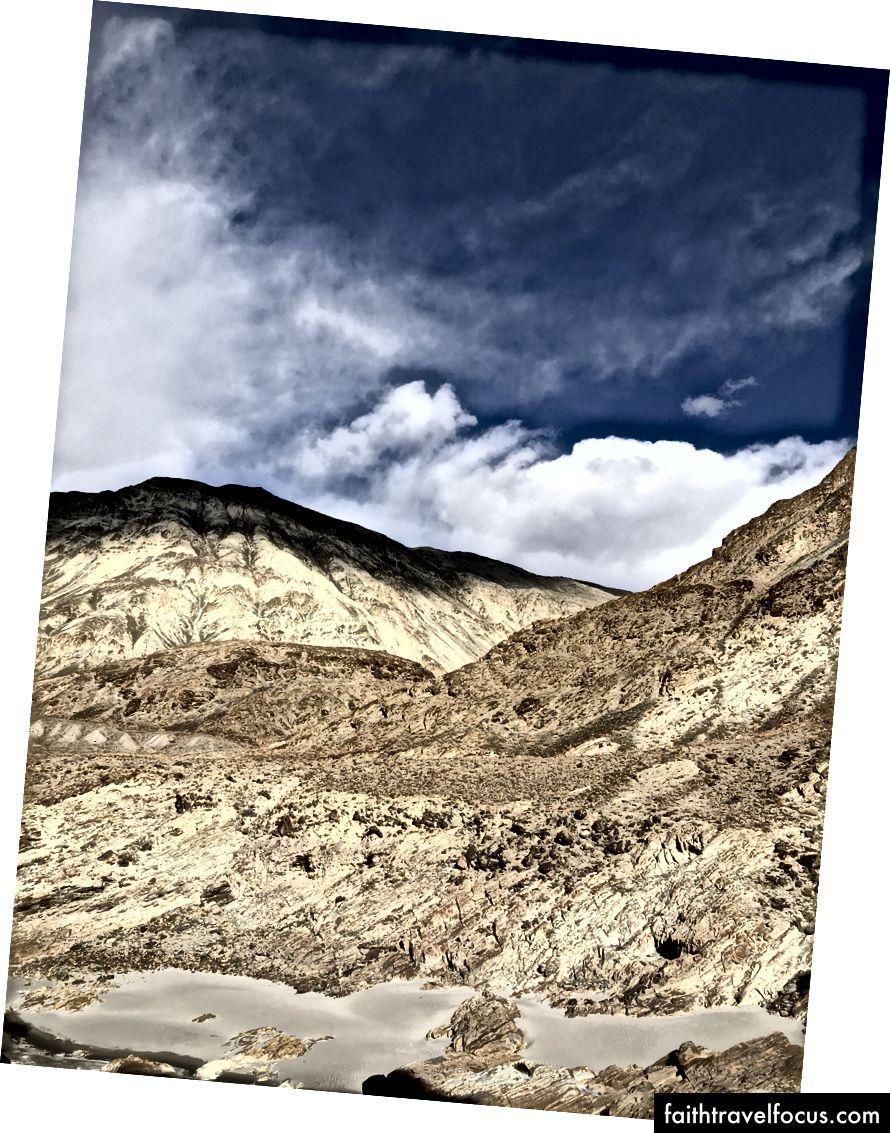 Оттенки гор