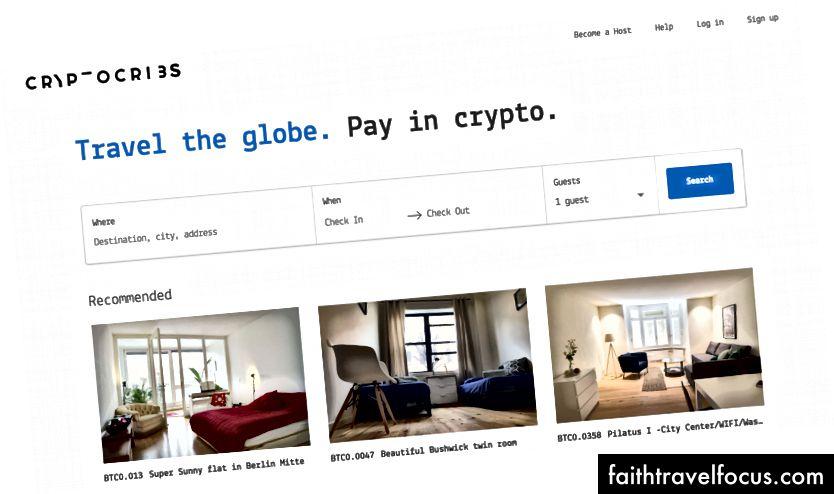 Khá tốt: https://www.cryptocribs.com/