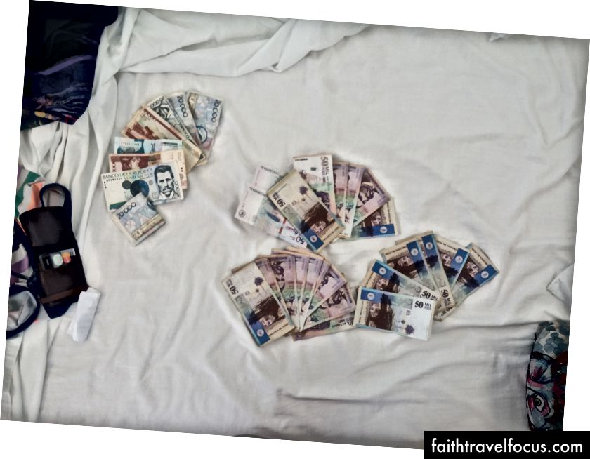 Tôi thực sự thích tiền mặt.