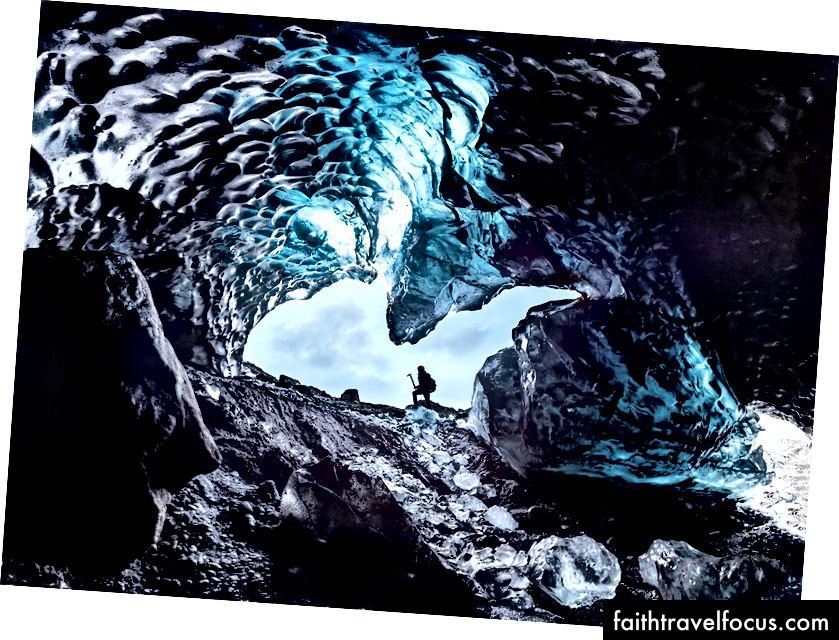 Печера Бетмена на льодовику Свінафеллсжокулл, Скафтафелл