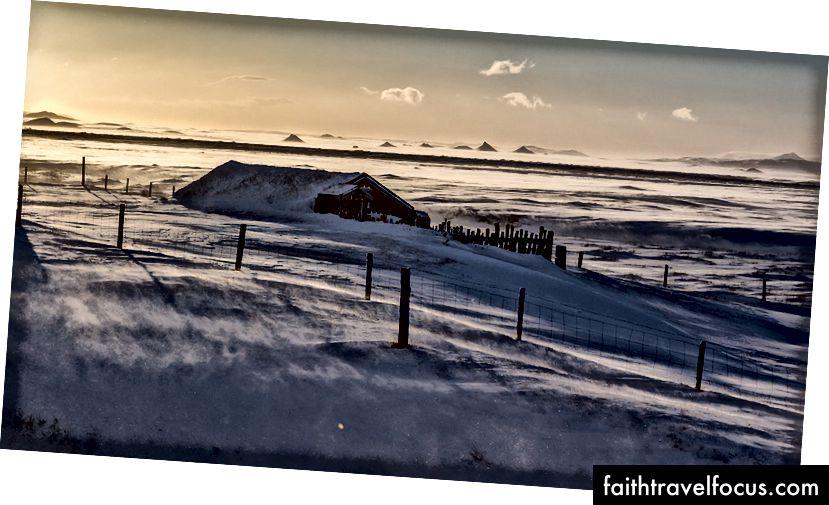 Погода на задній частині Кафе Fjallakaffi, Möðrudalur á Fjöllum