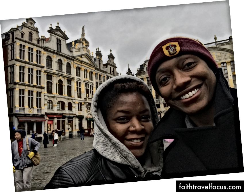 Đi chơi tại The Grand Place ở Brussels, Bỉ