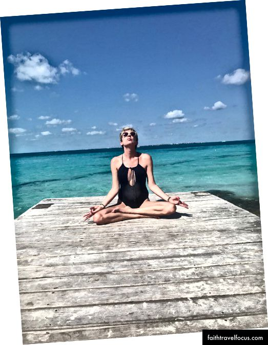 Tôi không bao giờ tham gia một lớp yoga duy nhất - Tôi vừa mới gồng mình với tư thế yoga dễ dàng.