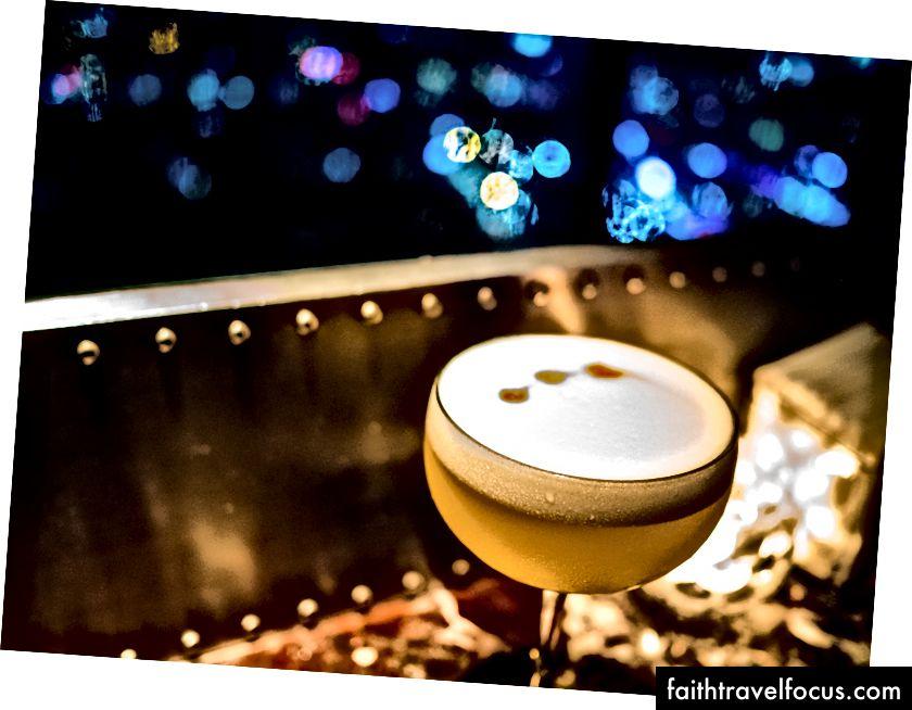 Đây có thể là bất kỳ quán bar cocktail cao cấp ở châu Âu