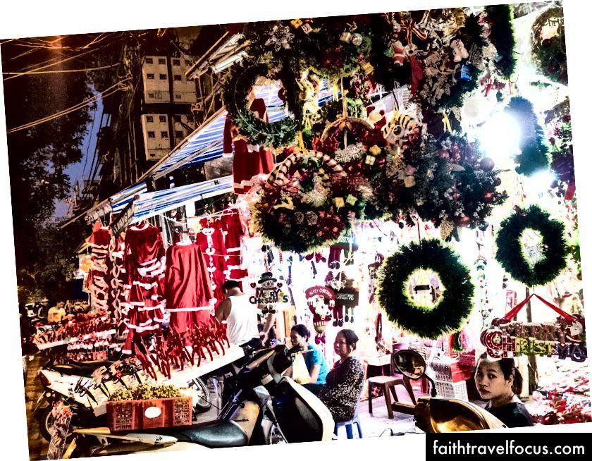 Giáng sinh có vẻ phổ biến ở Hà Nội