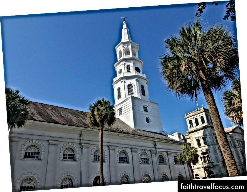 Điểm tham quan đường phố tại một trong những thành phố yêu thích của tôi, Charleston.