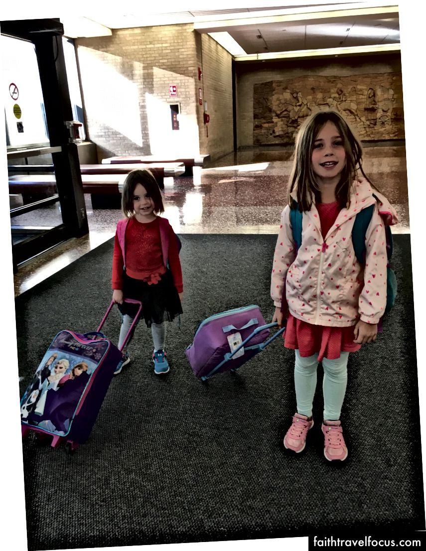Bài học kinh nghiệm về vali trẻ mới biết đi
