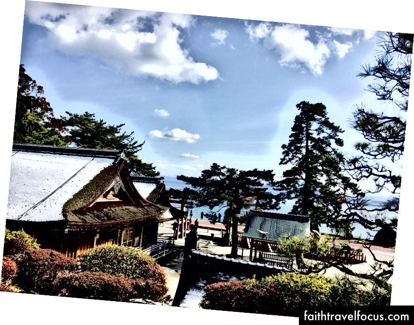 鬚 神社 Đền thờ Shirahige